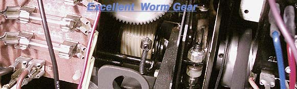 Bell & Howell Worm Gear Intact
